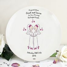 Female Wedding & Civil Partnership Plate